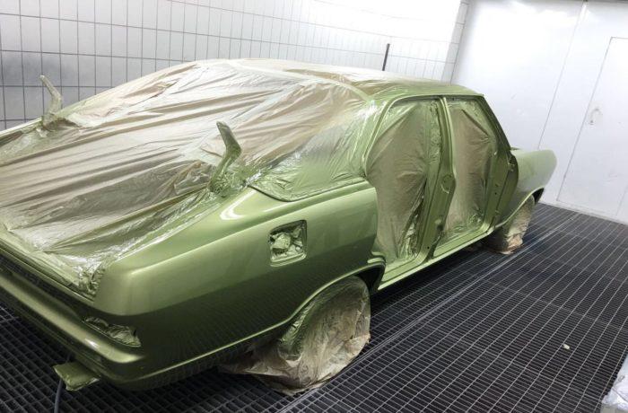 Opel Oldtimer Ganzlackierung
