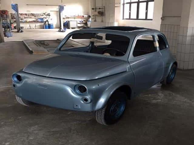 Fiat 500 Giannini Komplett Lackierung