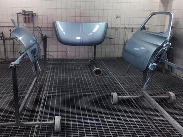Teile Lackierung Fiat 500 Giannini