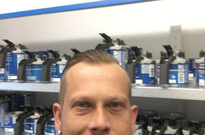 Selfi vom Firmeninhaber Mathias Kaiser